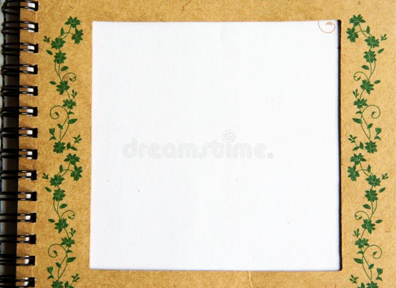 notatnik zdjęcie stock