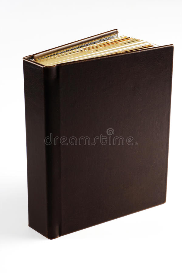 notatnik elegancki fotografia stock