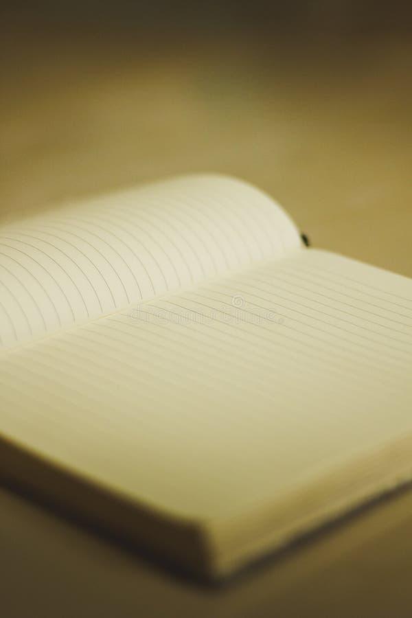 Notatnik książkowy da zdjęcia stock