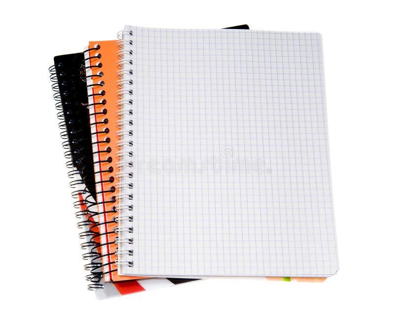 notatnik spirala zdjęcia stock