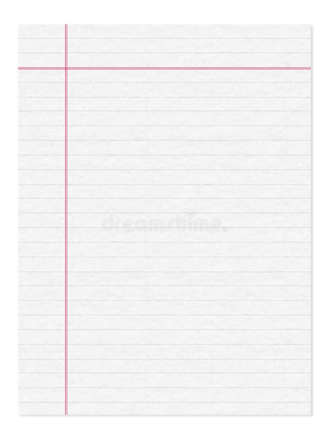 notatnik strona zdjęcia stock