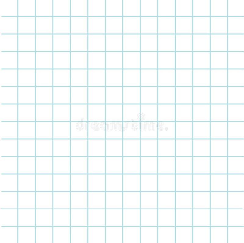 Notatnik tekstury komórki papierowy szablon Ciosowy pusty prześcieradło copybook tło Płaski projekt ilustracji