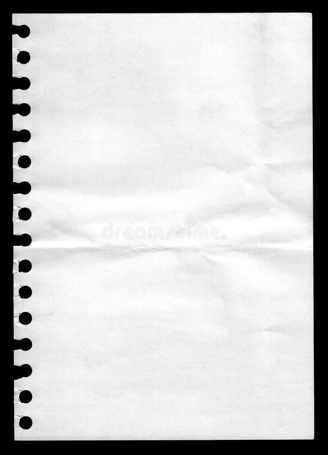 notatnika papier zdjęcia stock