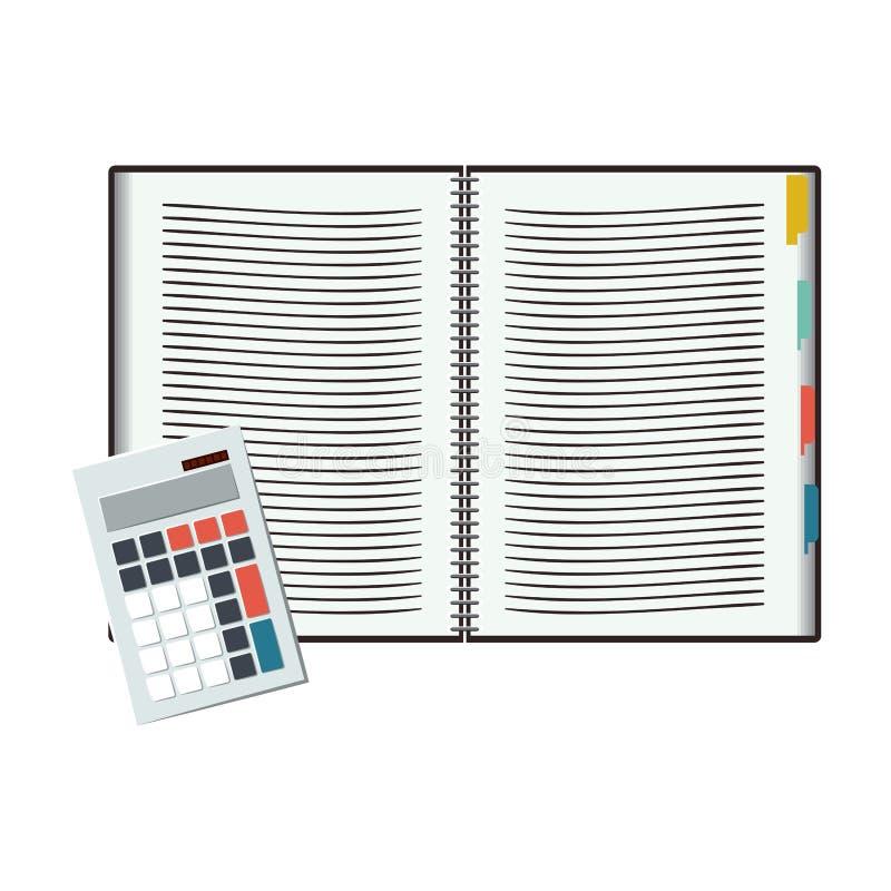 Notatnika projekt ilustracji