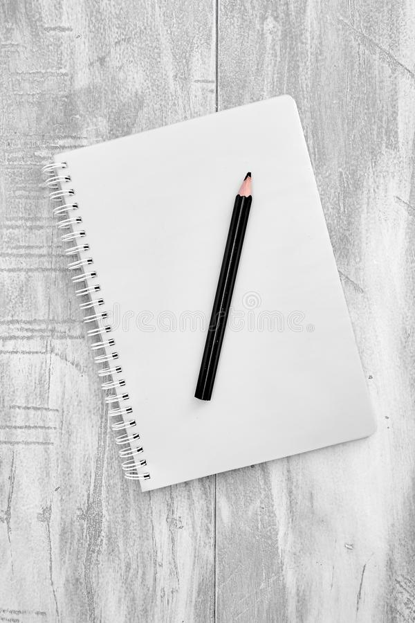 Notatnika Writing ochraniacz obrazy royalty free