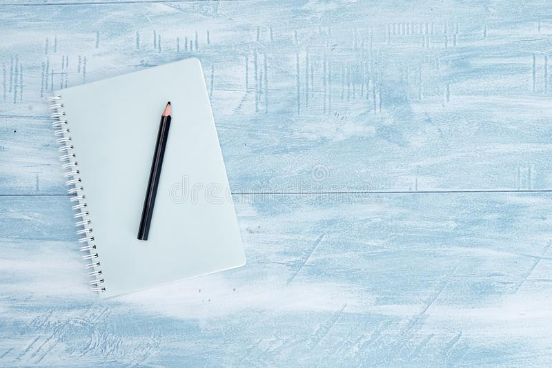 Notatnika Writing ochraniacz obrazy stock