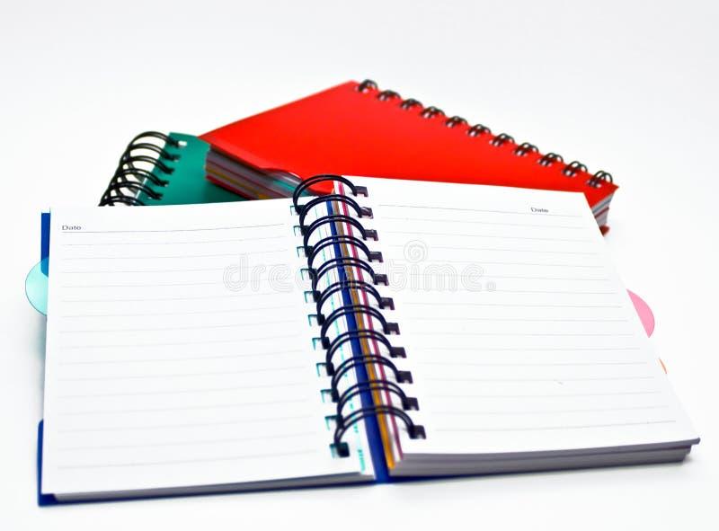 notatniki zdjęcia stock