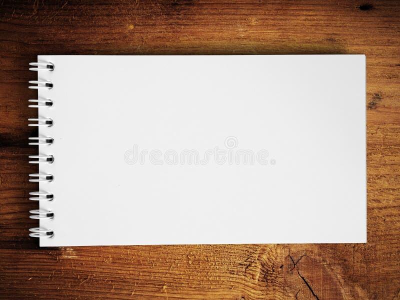 Download Note Book Horizontal On Teak Wood Stock Image - Image: 16968821