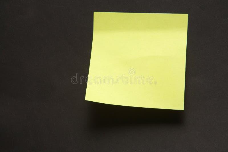 Note collante photographie stock