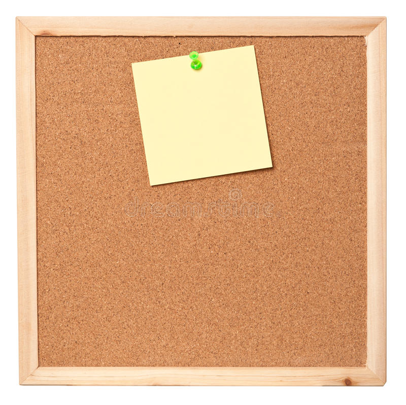 Note collante de post-it images libres de droits