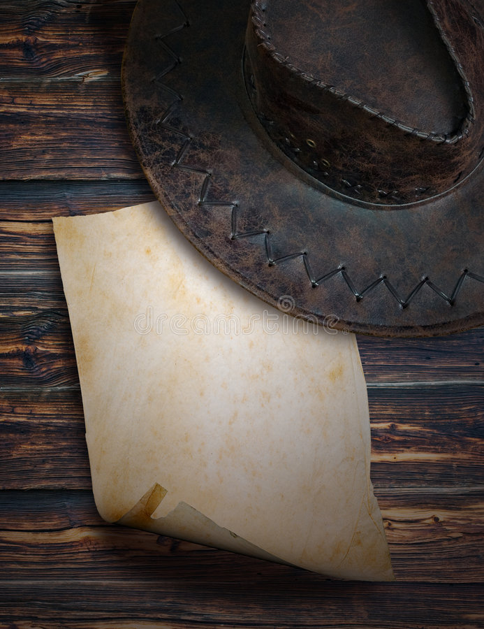 Download Note cowboy stock image. Image of parchment, grain, cowboy - 8457925