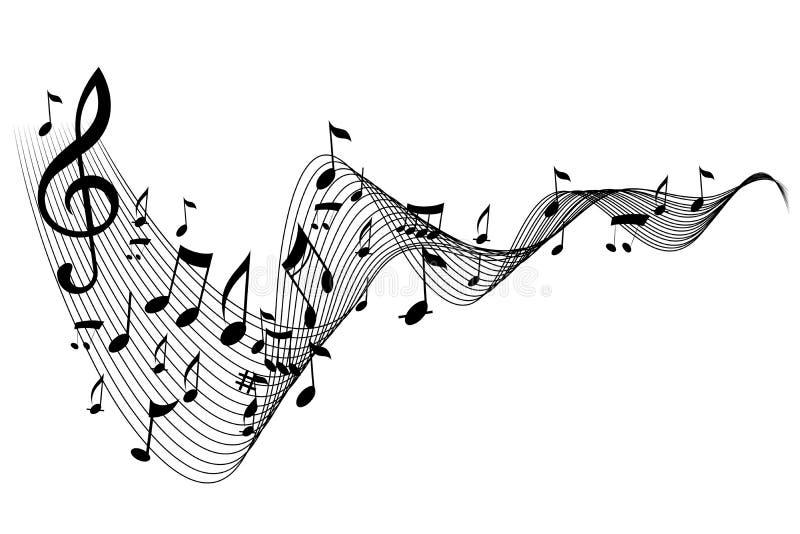 Note De Musique Photos stock