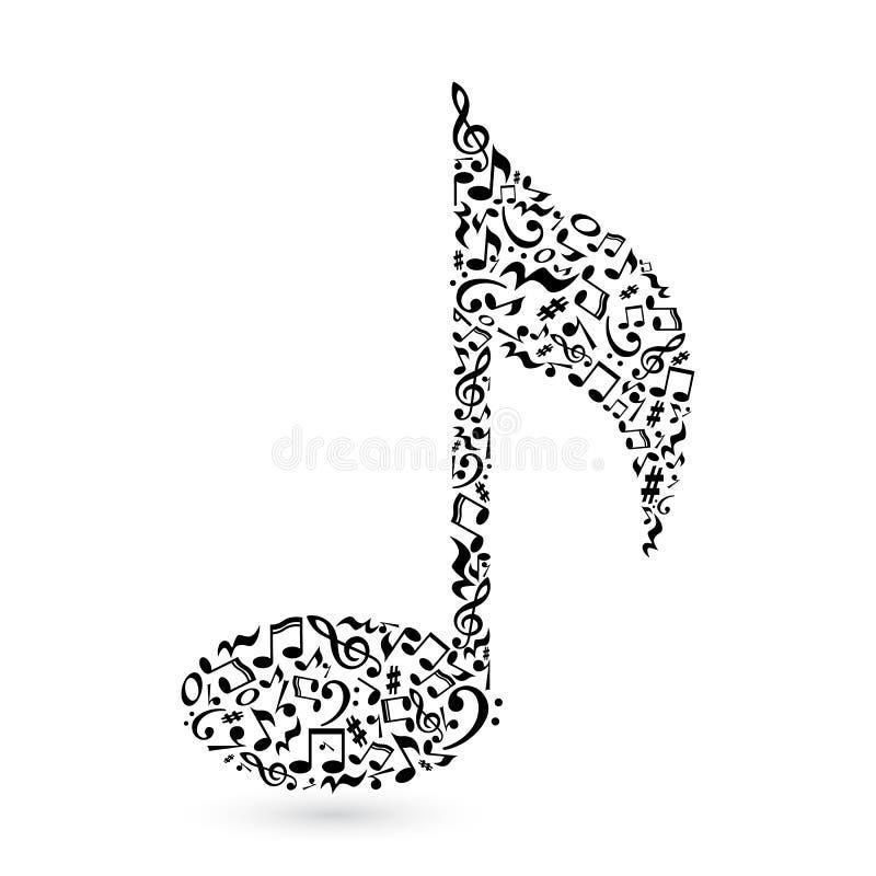 note de musique sur le blanc illustration de vecteur guitar vector file guitar vectoriel