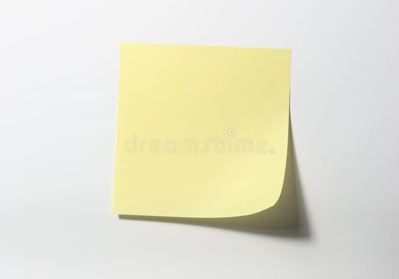 Note De Post-it Images libres de droits