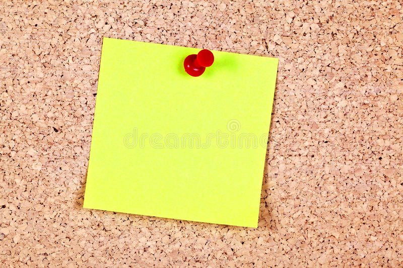 Note de post-it photo stock