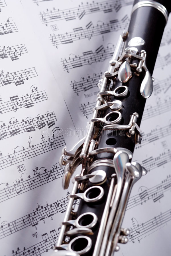 Note di jazz immagine stock