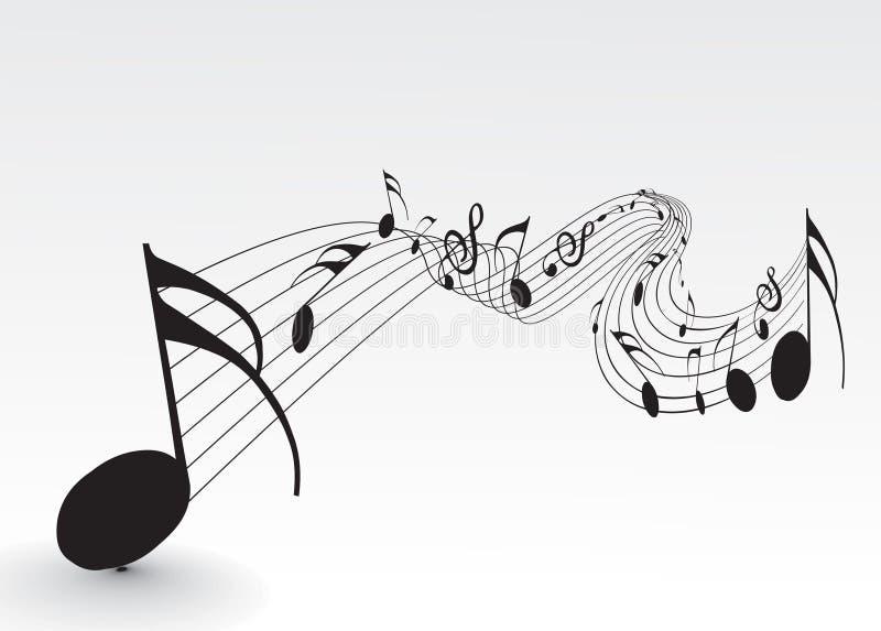 Note di musica royalty illustrazione gratis