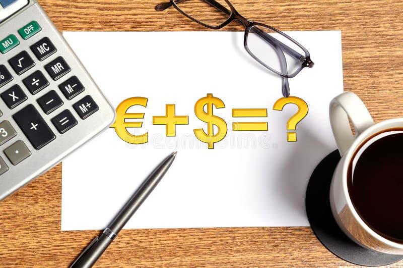 Note Money Formula Royalty Free Stock Photo