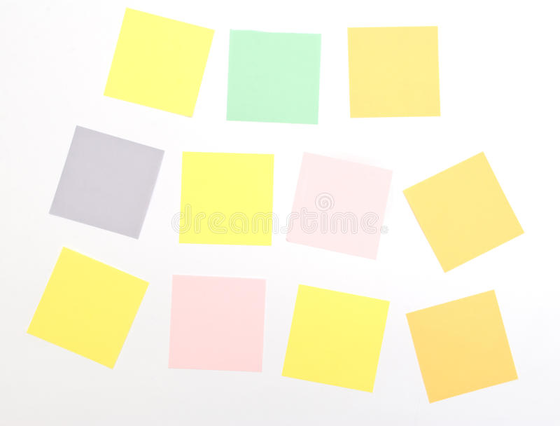 Download Note Pad stock illustration. Image of remind, organize - 15396755