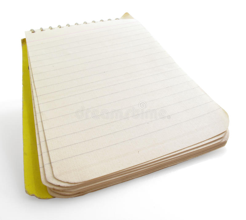Download Note Pad stock photo. Image of message, write, white - 17173924