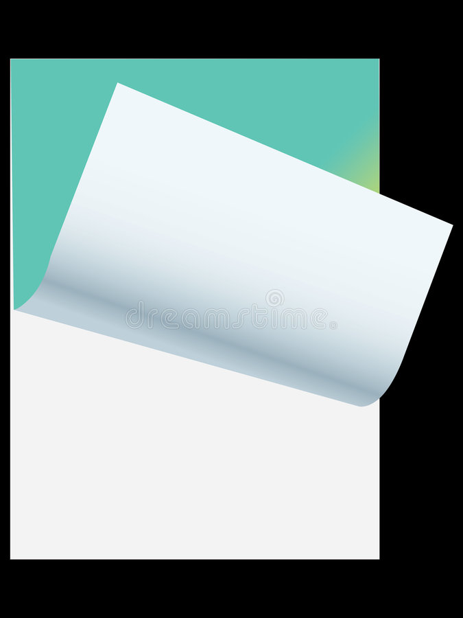 Download Note pad stock vector. Illustration of supply, class, blank - 4171544