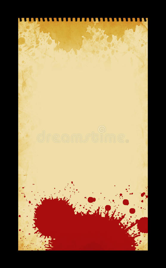 Note Pad. This is a variation on a vintage note pad stock illustration