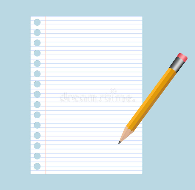Free Note Pad And Pencil Royalty Free Stock Photo - 9671095