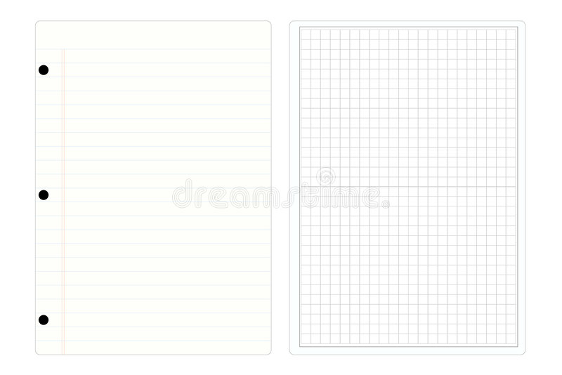 Note Pad Paper Stock Image