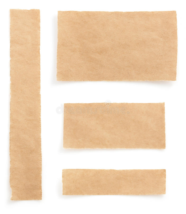 Download Note paper on white stock photo. Image of torn, notice - 39503720