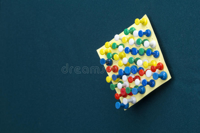 Download Note with pushpins stock photo. Image of blank, notification - 40968904