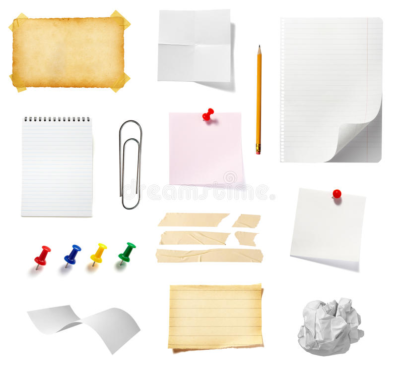 Download Note Reminder Business Office Supplies Stock Image - Image of adhesive, curl: 10896703