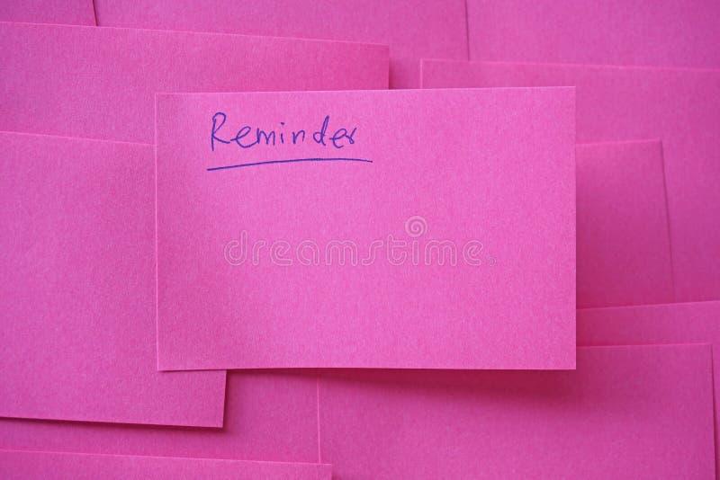Note rose photo libre de droits