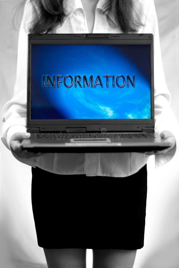 Download Notebook 1 stock image. Image of black, monitor, news, keyboard - 655285