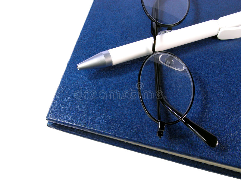 Download Notebook stock photo. Image of pencil, office, ball, over - 116062