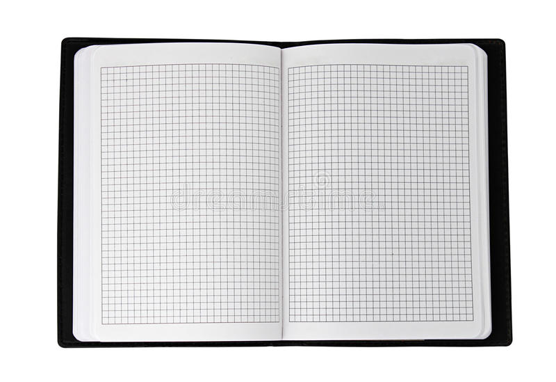 Download Notebook stock image. Image of pages, empty, clean, open - 16463801