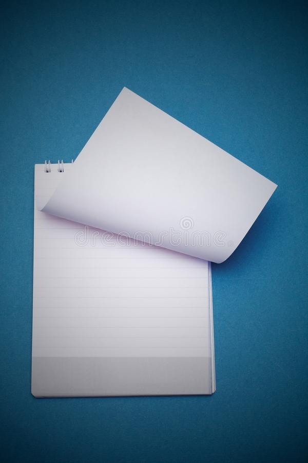 Download Notebook stock image. Image of line, paper, sheet, office - 17493047