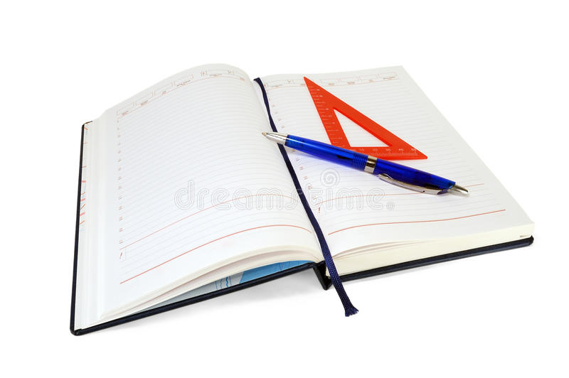 Download Notebook stock photo. Image of empty, white, copy, study - 22755028