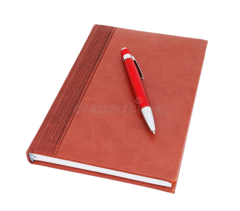 Download Notebook stock image. Image of leather, note, document - 25106903