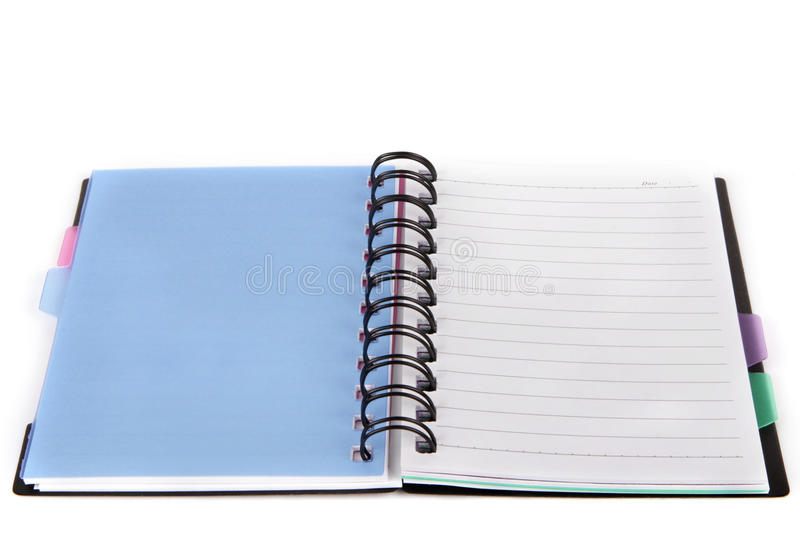 Download Notebook stock photo. Image of spiral, blank, white, empty - 26493174