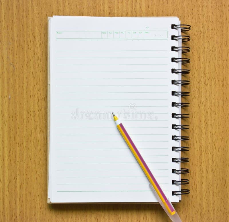 Free Notebook And Pen. Stock Photos - 27581483