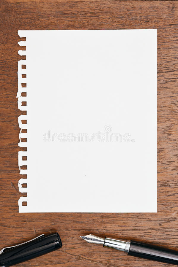 Free Notebook And Pen Royalty Free Stock Photos - 47343038