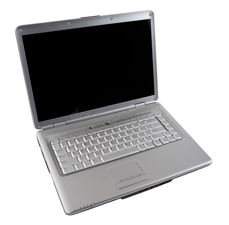 Free Notebook Computer With Blank Screen Royalty Free Stock Photo - 4221875