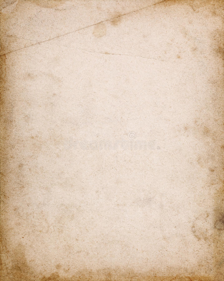 Free Notebook Cover Page With Stains And Dark Borders Stock Images - 80926864
