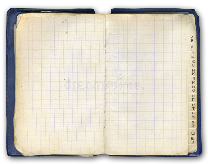Download Notebook (with cyrillic) stock image. Image of periodic - 3143161