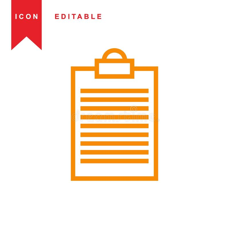 notebook icon royalty free illustration