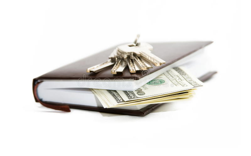 Download Notebook money key stock photo. Image of notebook, direction - 13139190