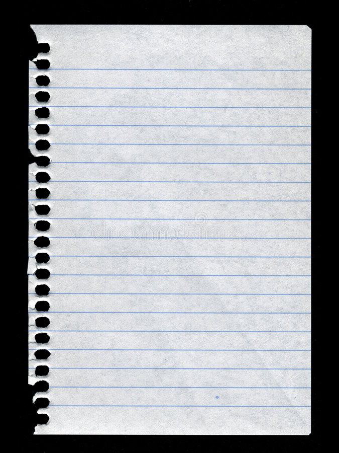 Free Notebook Paper Stock Photography - 6073412