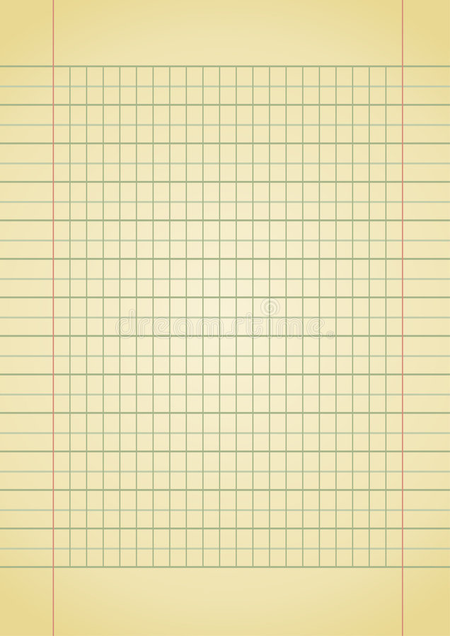 Download Notebook paper stock vector. Image of remind, artistic - 7463125
