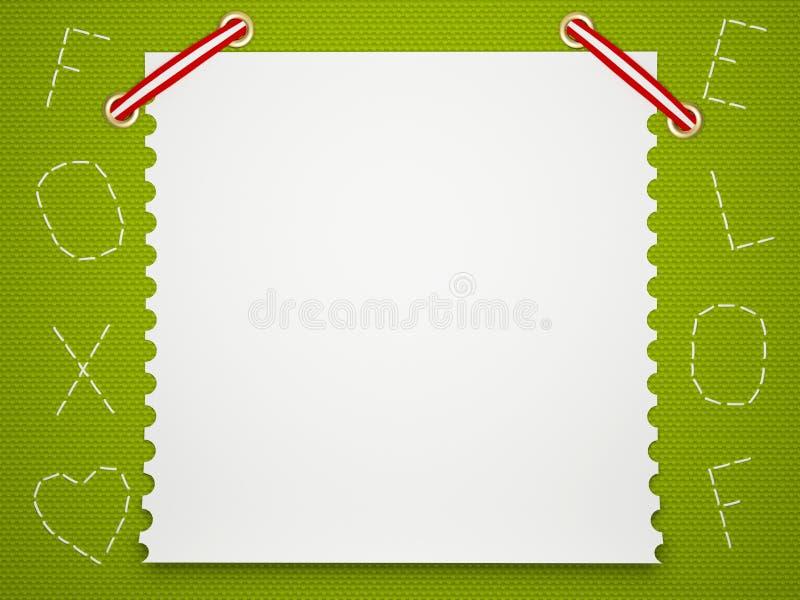 Notebook paper background. Children's background. vector illustration