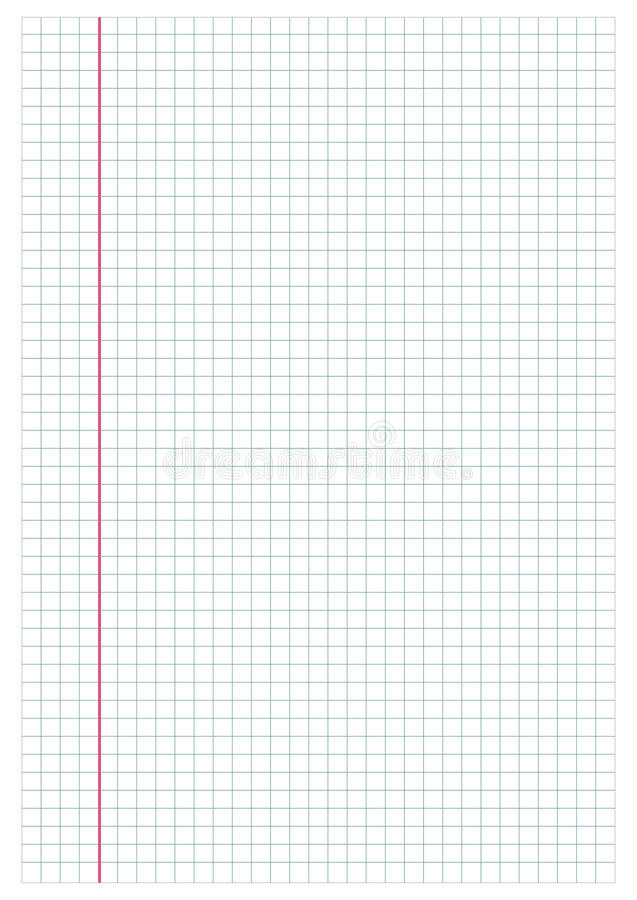 Notebook paper2 stock photography